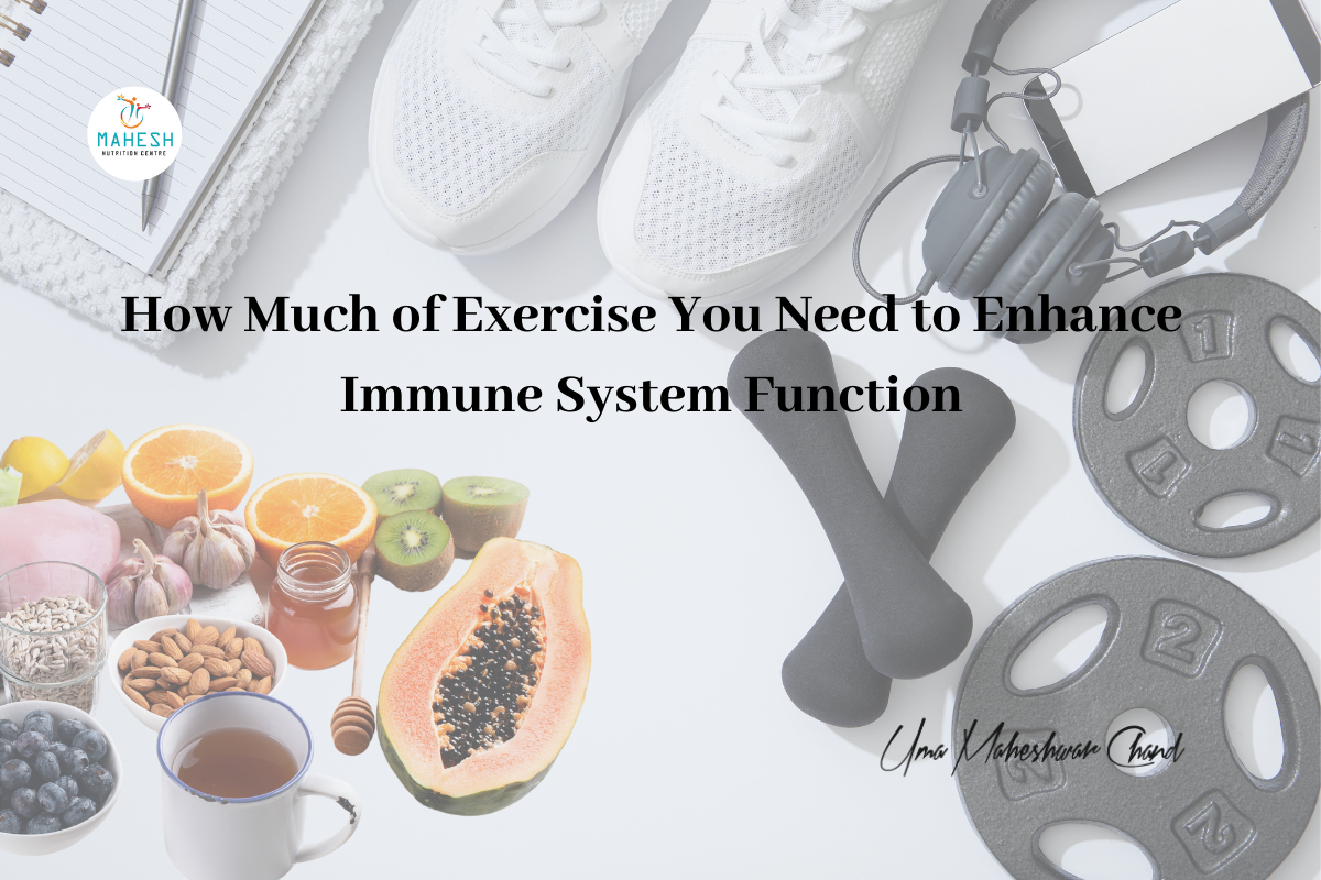 How Much of Exercise You Need to Enhance Immune System Function